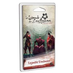 La Légende des Cinq Anneaux LCG - Loyautés Douteuses
