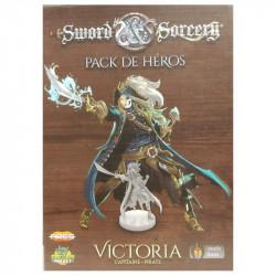 Sword & Sorcery - pack de héros Victoria