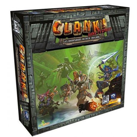 Clank! Dans l'Espace ! - boite abimée