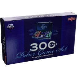 300 Poker chips in aluminium case