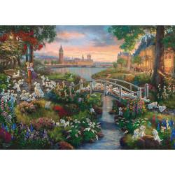 Puzzle Disney : 101 dalmatians - 1000 pièces