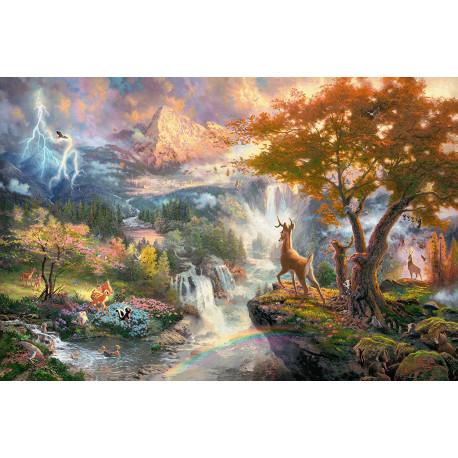 Puzzle Disney : Bambi - 1000 pièces