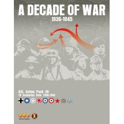ASL Action Pack 6 - A Decade of War