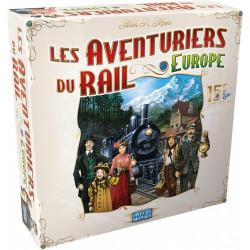 Les Aventuriers du Rail - Europe - 15e Anniversaire - French version