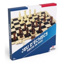 Jeu d'échecs classique en bois