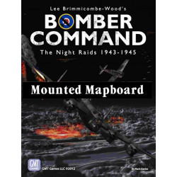 Bomber Command - mounted map