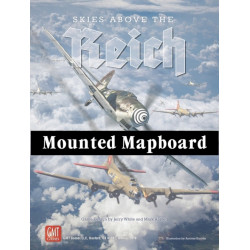 Skies above the Reich - Mounted Map