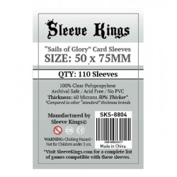 Protège-cartes Sails of Glory Sleeve Kings 50x75 mm (110)