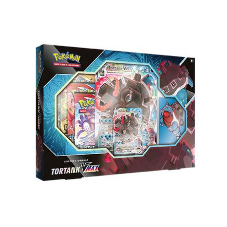 Pokémon : Coffret Combat Tortank-VMAX