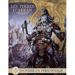 Terres d'Arran : Dossier de personnage