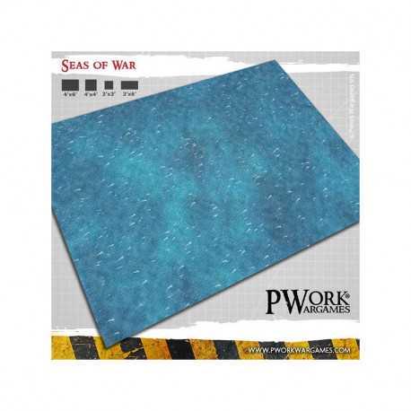 Tapis de jeu Seas of War 90x90cm