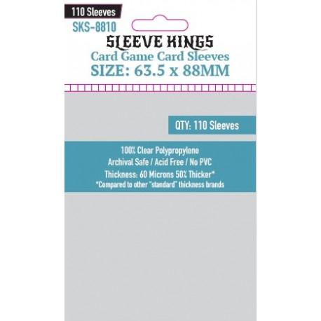 Protège-cartes Sleeve Kings 63.5x88 mm (110)