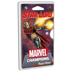 Boite de Marvel Champions : Le Jeu de Cartes - Paquet Star-Lord