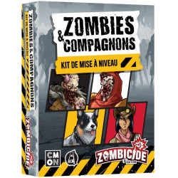 Zombicide : Zombies & Compagnons (update kit)