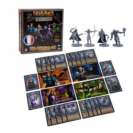 Clank! Legacy - Acquisitions Incorporated - Upper Management Pack exp. - French version