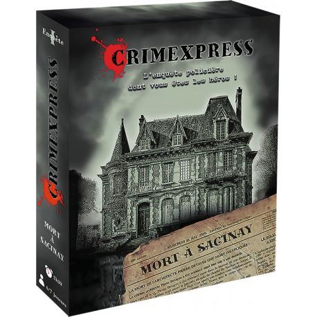 Crimexpress - Mort à Sacinay