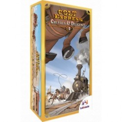 Colt Express - Chevaux et Diligence - used