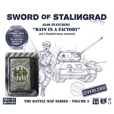 extension mémoire 44 - Battlemaps Vol.3 - l'épée de Stalingrad
