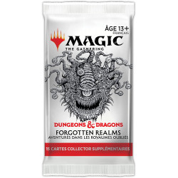 MTG : Forgotten Realms Booster Collector FR