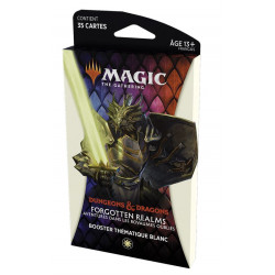 MTG : Forgotten Realms White Thematic Booster FR