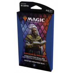 MTG : Forgotten Realms Blue Thematic Booster FR