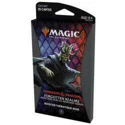 MTG : Forgotten Realms Black Thematic Booster FR