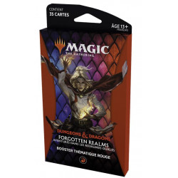 MTG : Forgotten Realms red Thematic Booster FR