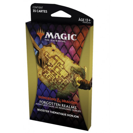 MTG : Forgotten Realms Dungeon Thematic Booster FR