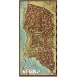 D&D 5 : Waterdeep - Plan de la cité de Waterdeep