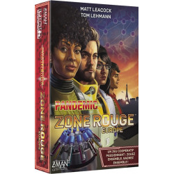 Pandemic Zone Rouge - Europe - French version
