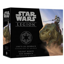 Star Wars : Légion - Soldat Monté sur Dewback