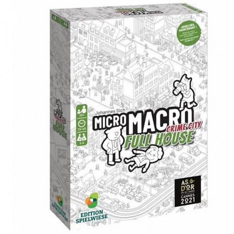 MicroMacro Crime City - Full House