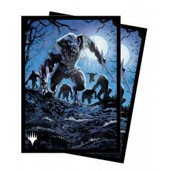 MTG : Innistrad Midnight Hunt 100 sleeves V5