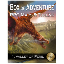 Livre plateau de jeu : Box of Adventure - Vallée du péril