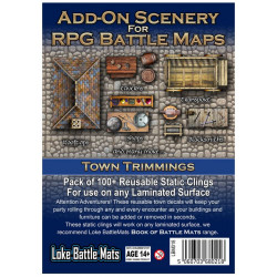 Add-on Scenery for RPG Town Battle Maps