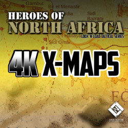 Heroes of North Africa 4K X-Maps