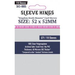 Protège-cartes Sleeve Kings 52x52 mm (110)