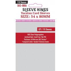 Protège-cartes Sleeve Kings 54x80 mm (110)