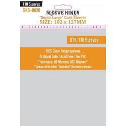 Protège-cartes Sleeve Kings 102x127 mm (110)