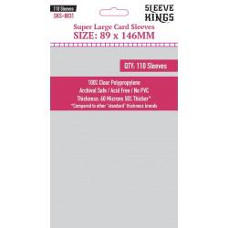 Protège-cartes Sleeve Kings 89x146 mm (110)