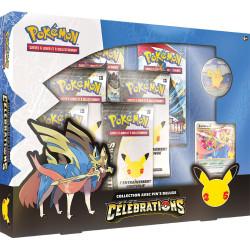 Pokémon 25 ans : Coffret Pins Deluxe Zacian Niv. X