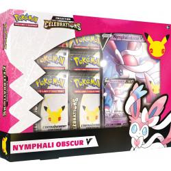 Coffret Pokemon Célébrations : Nymphali Obscur-V