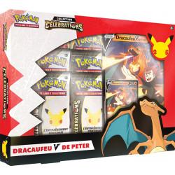 Coffret Pokemon Célébrations : Dracaufeu-V de Peter