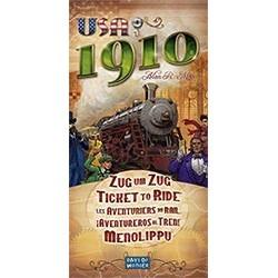 Les Aventuriers du Rail extension USA 1910