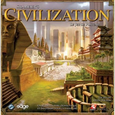 Sid Meier's Civilization, le jeu de plateau - PRÉCOMMANDE