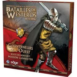 Batailles de Westeros gouverneurs de l'ouest