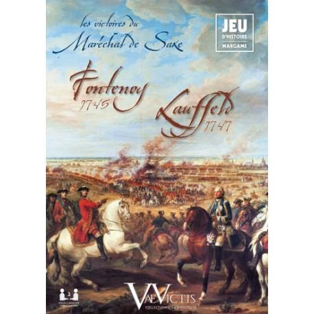 Les victoires du Maréchal de Saxe - Fontenoy 1745 - Lauffeld 1747