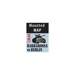 Barbarossa to Berlin Mounted Map