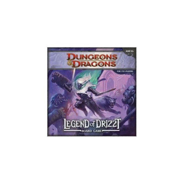 D&D Legend of Drizzt Boardgame, Wizards of the Coast