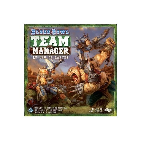 Blood Bowl Team Manager - Le jeu de cartes